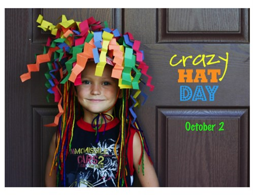 Crazy Hat Day 2015