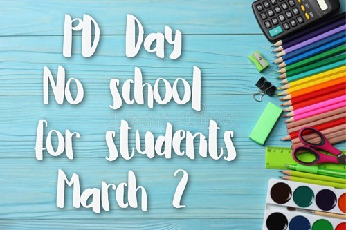 March 2 PD Day