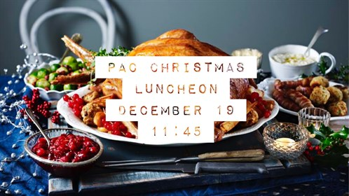 PAC Christmas Luncheon